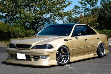 NOBI POWER san's TOYOTA MARKⅡ x SHALLEN XF-55 - AME, user vehicle, SHALLEN, XF-55, MARK2