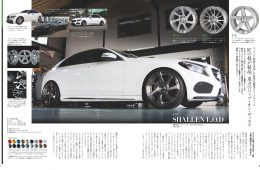 Advertisement and Publicity - MODELART REVIVER MONOBLOCK, shallen WX monoblock, shallen L.O.D, AME Wheels
