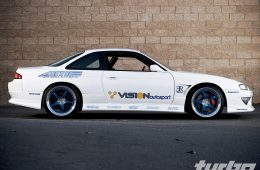 AME CIRCLAR SPEC-M x 1996 Nissan 240SX - AME Wheels, CIRCLAR SPEC-M