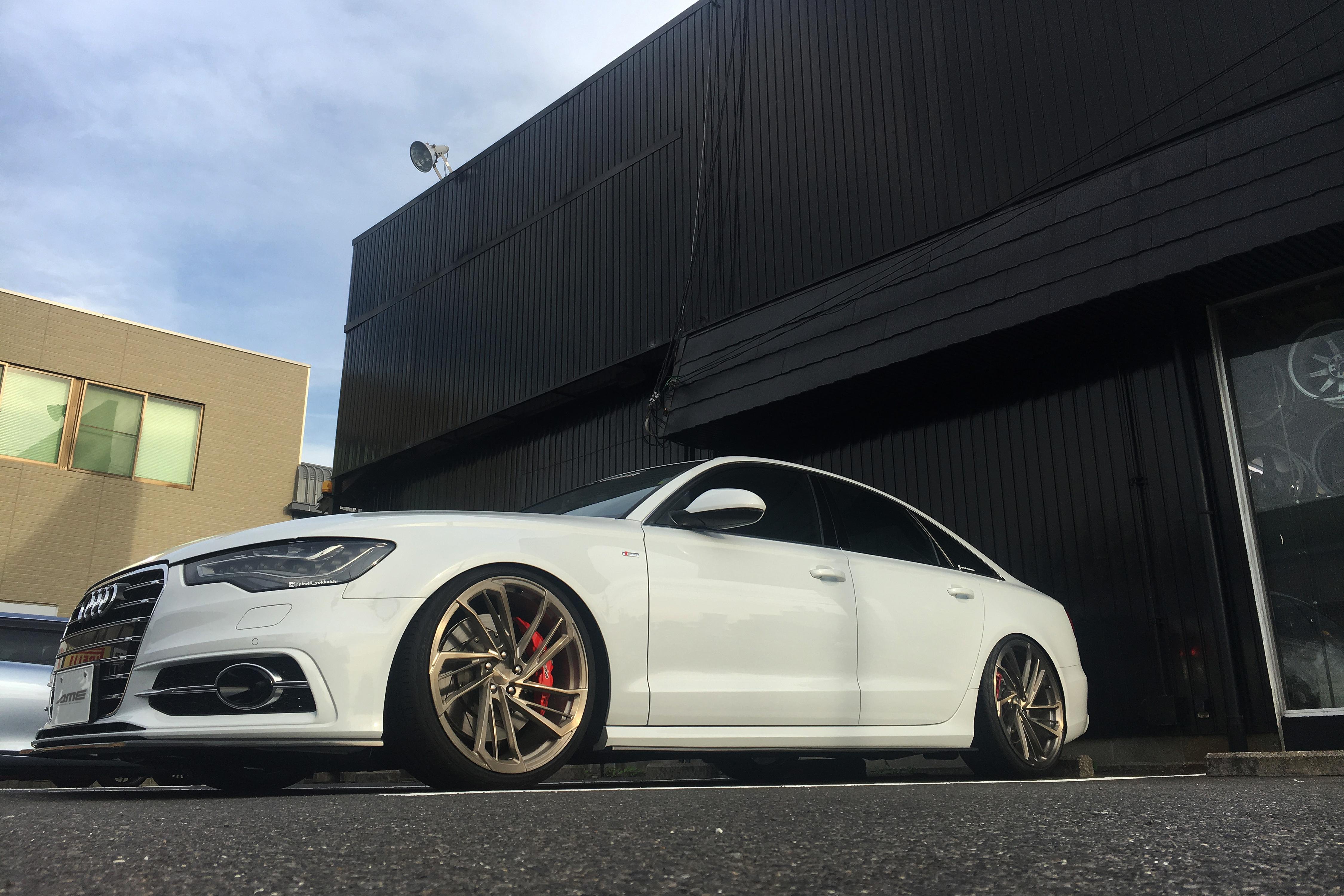 モデラート リヴァイバーモノブロック F × AUDI A6 - MODELART REVIVER MONOBLOCK, AME Wheels