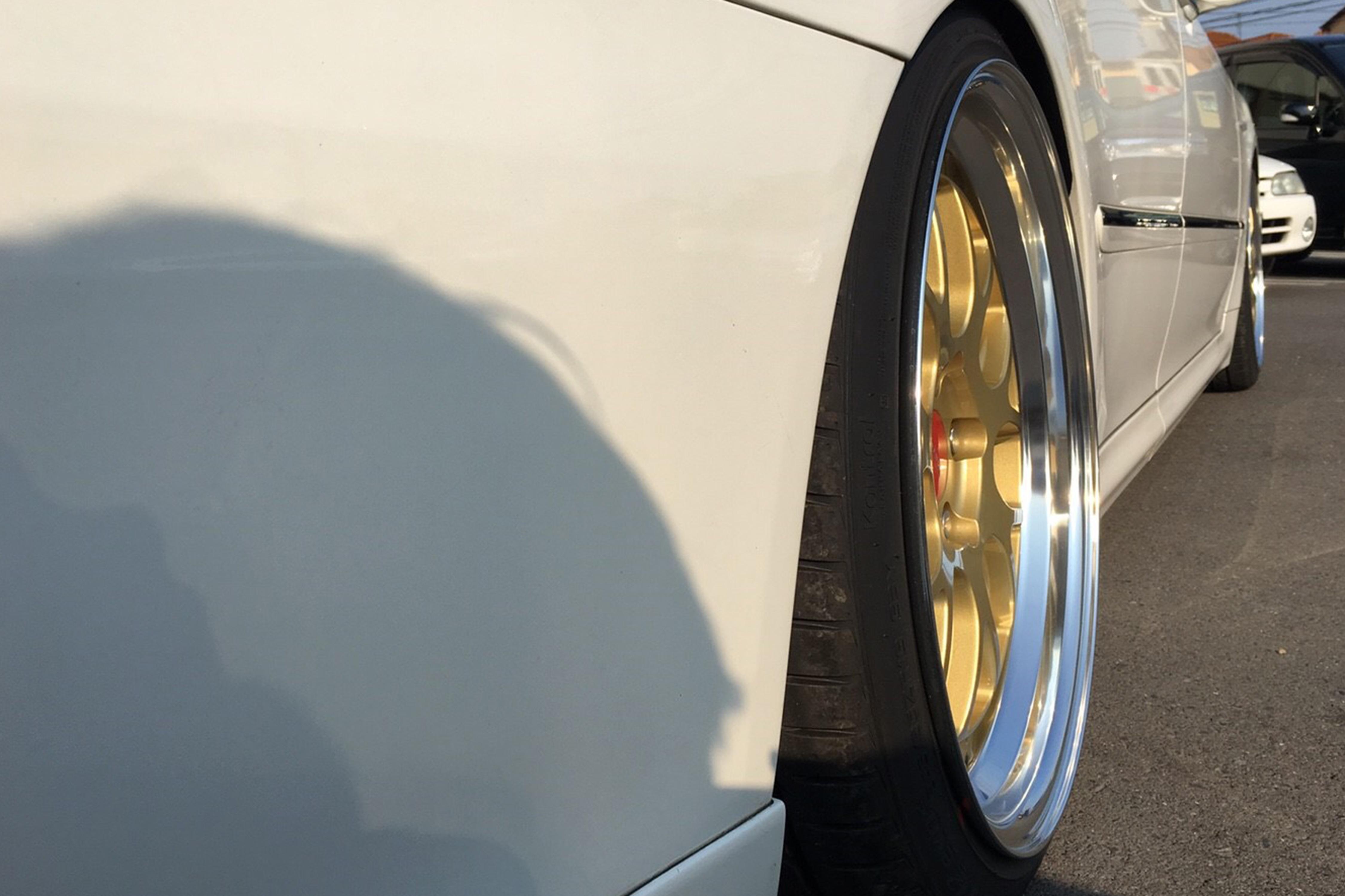 シャレン VMX Limited Gold × 18# CROWN - shallen V-series VMX, shallen V-series, AME Wheels, shallen V-series Limited Gold