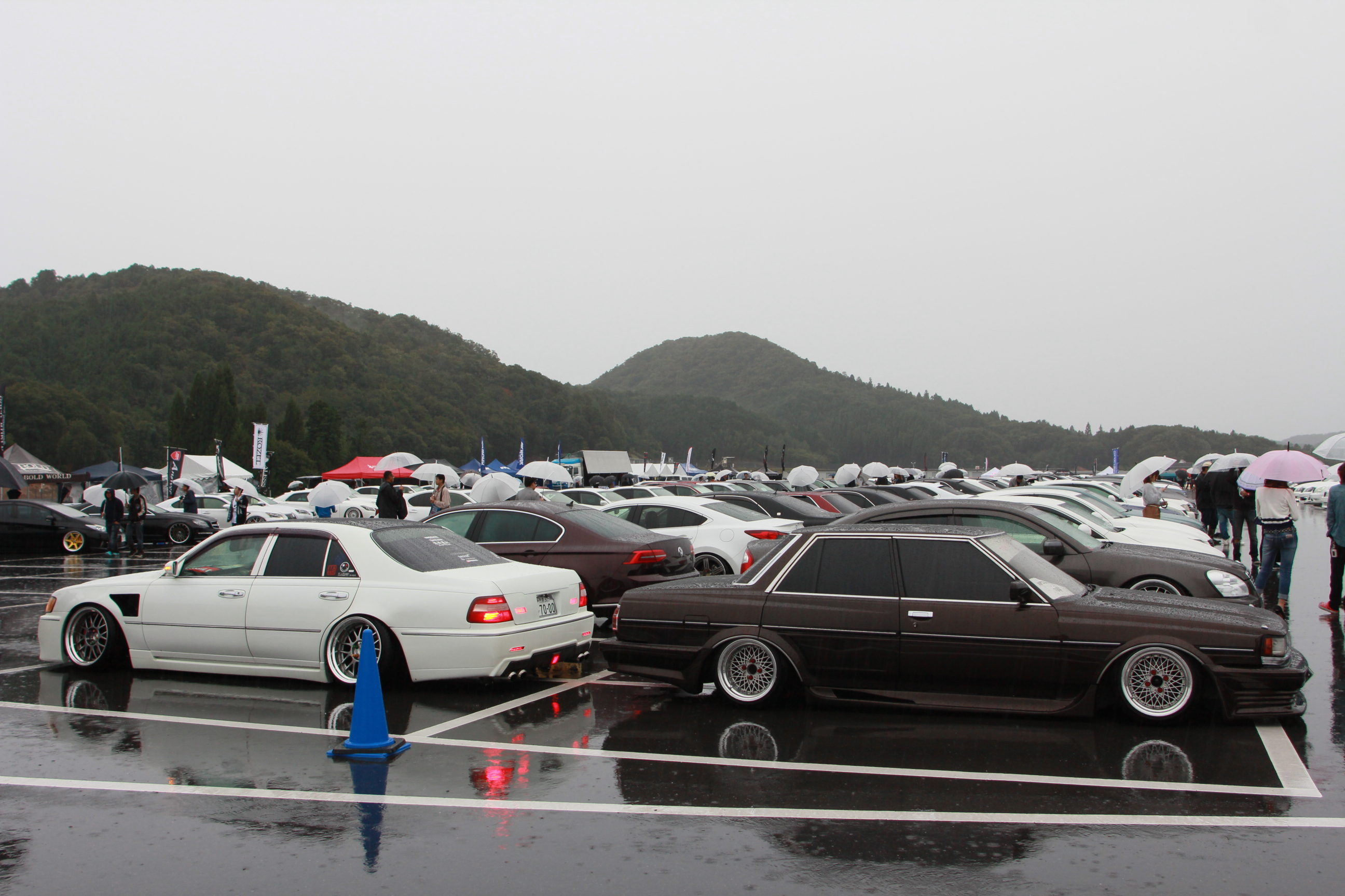 行ってきました、VIP STYLE MEETING - shallen L.O.D AME Wheels MODELART REVIVER