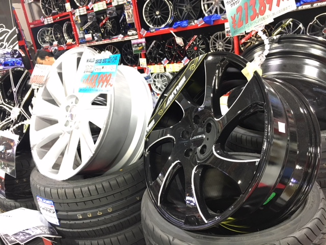 AMEプレミアムショップ様訪問 奈良県 - AME Wheels