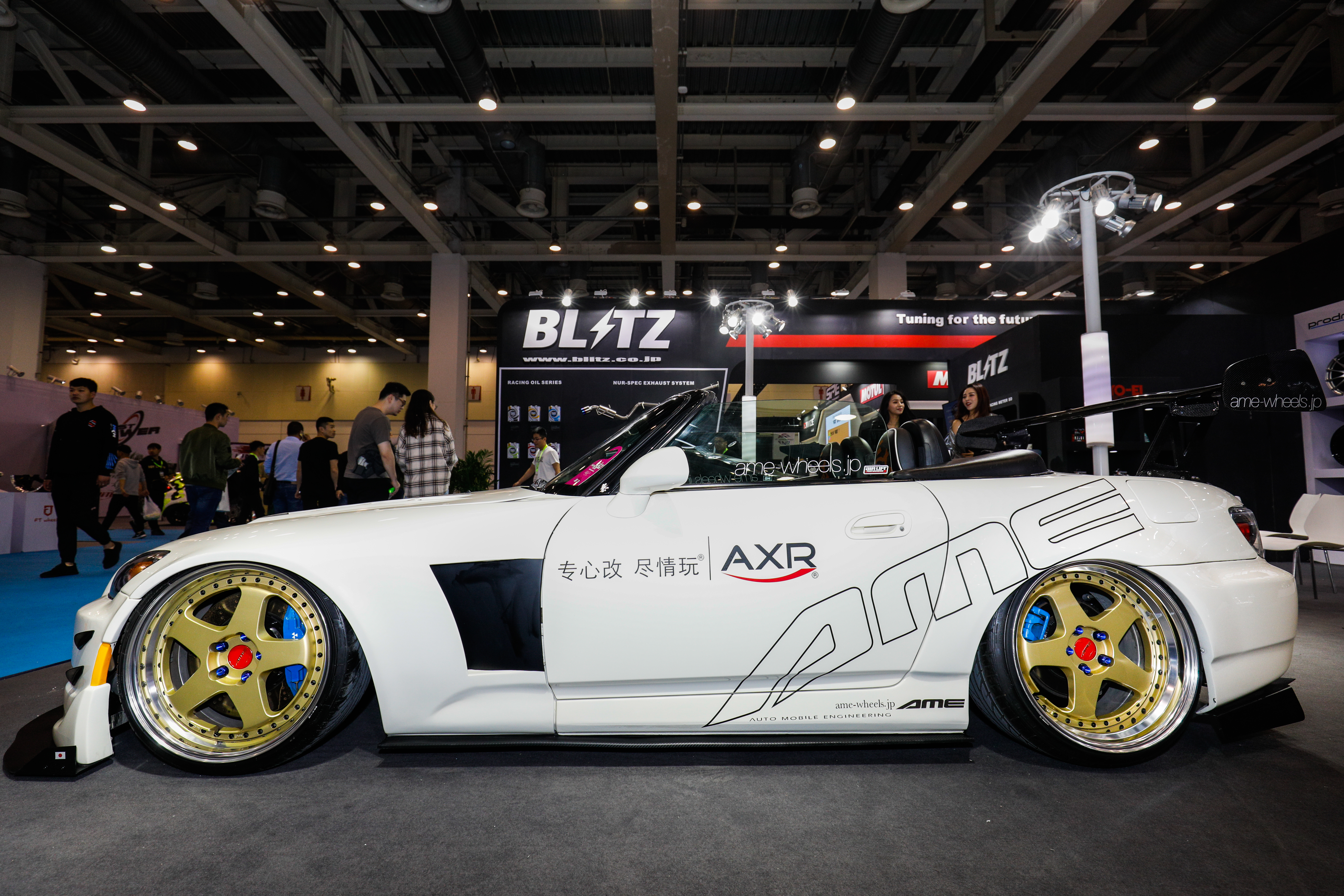 中国 GT SHOW 2018出展しました - AME Wheels, AME上海