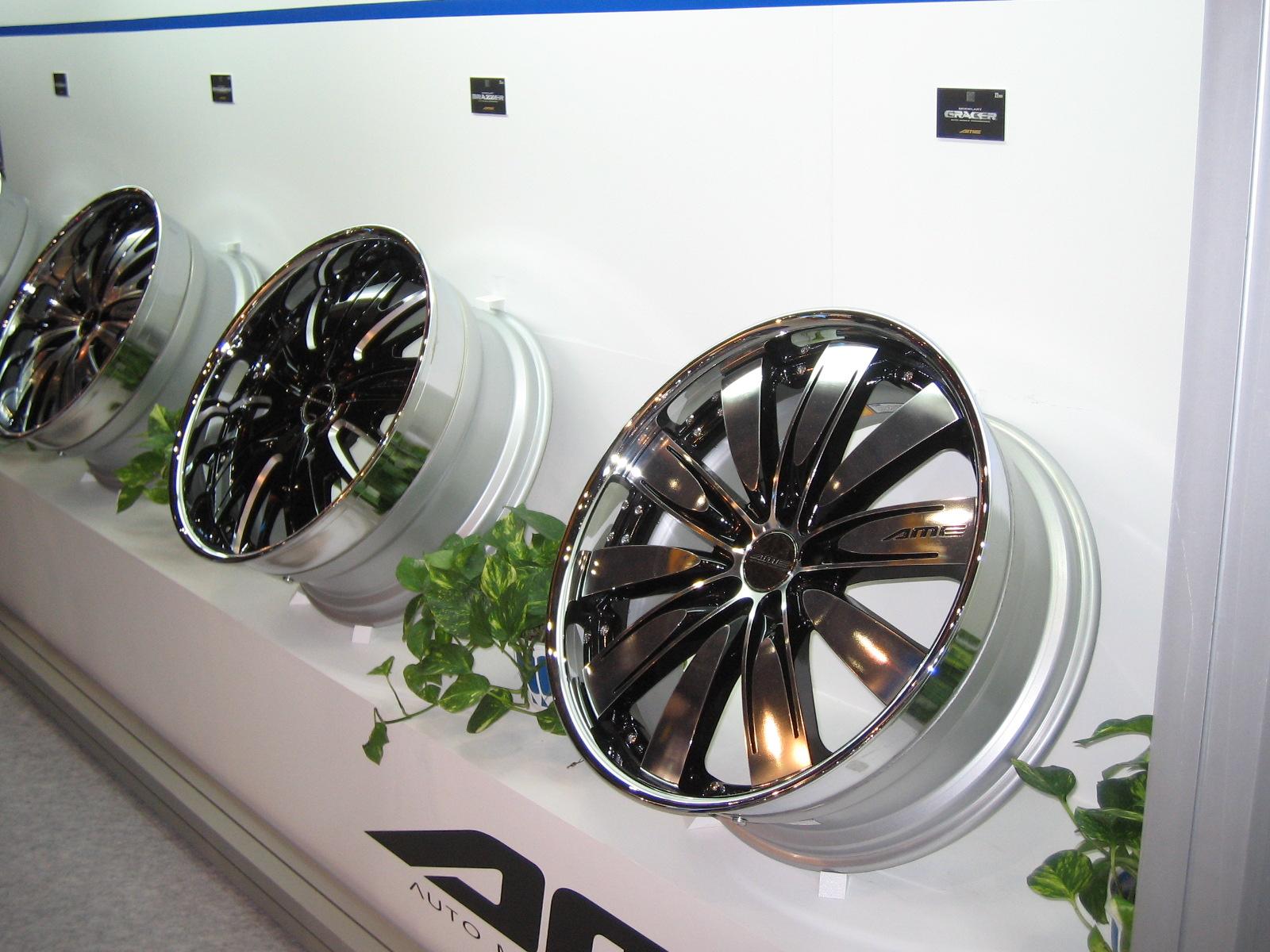 一目見れば虜になる輝き【AMEモデラート グレーサー】 - AME Wheels, modelart gracer