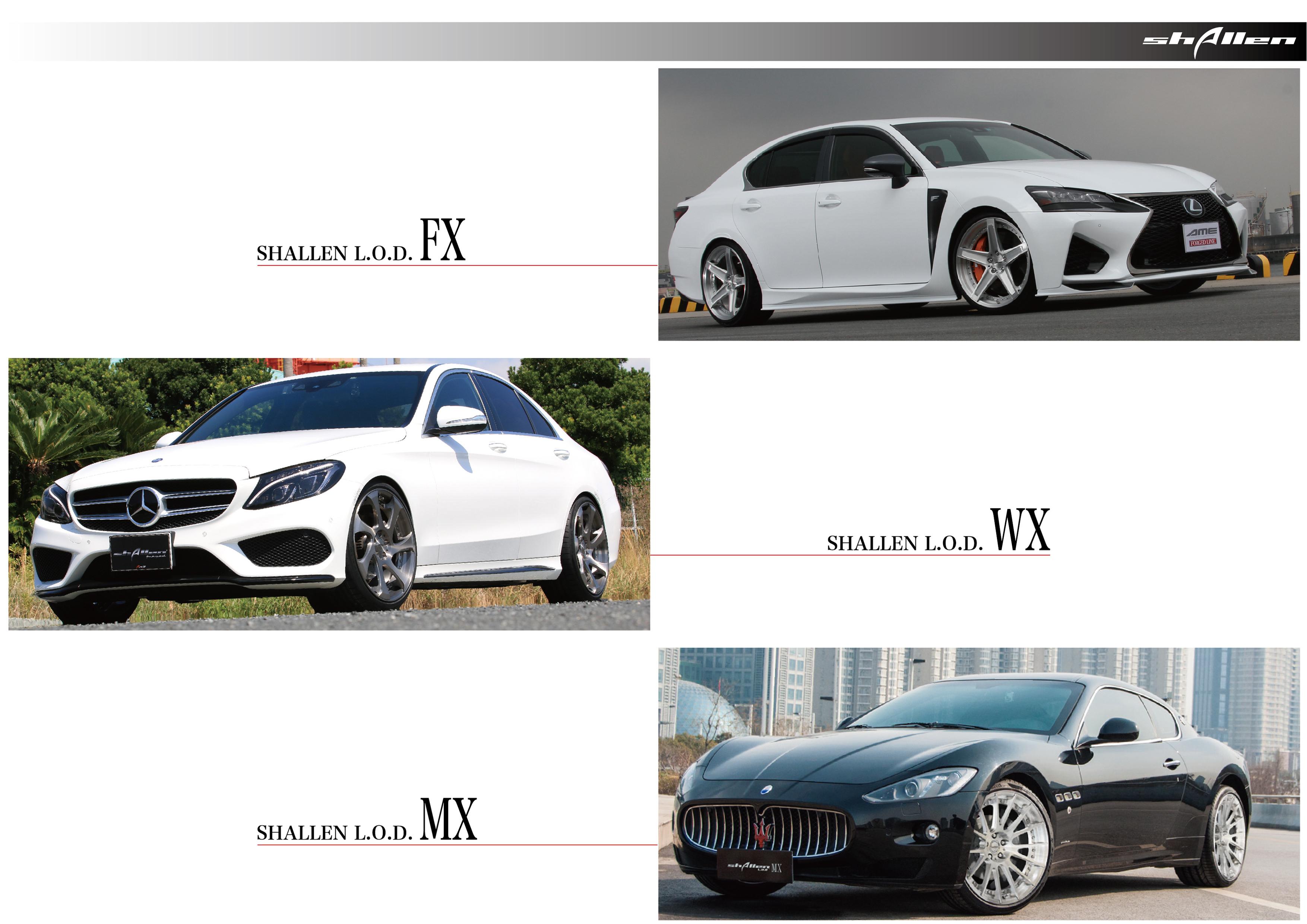 シャレンL.O.D.待望の22インチ追加です。 - shallen L.O.D, AME Premium Shop, AME Wheels, AME, Alloy wheels