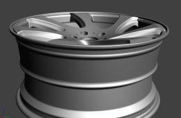 Wheel Design = 3D CG - shallen WX monoblock