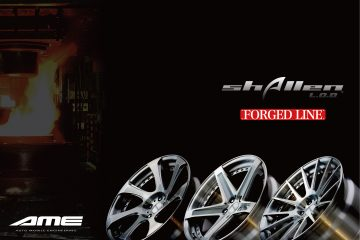 シャレンL.O.D. 待望の販売再開です - shallen L.O.D, AME Wheels, AME, AME Wheel, Alloy wheels, FORGED WHEELS